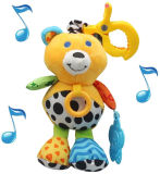 Juguete de encargo de la felpa del juguete animal del bebé
