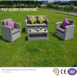 Новая мебель сада ротанга & алюминия PE конструкции, софа ротанга мебели отдыха напольная (TG-8002)