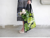 Moda Lazer Algodão Moderno Canvas Shopping Bag Handbag Tote Bag