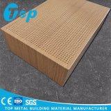Het houten Comité van de Sandwich van de Honingraat van het Aluminium van de Korrel voor het Behandelen van de Voorzijde