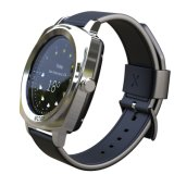 IPS van 1.2 Duim het Slimme Horloge van het Scherm van de Aanraking IP54 met Dubbele Banden Bluetooth & het Dynamische Tarief van het Hart, de Controle van de Slaap & de Sensor van de Ernst