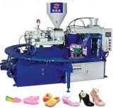 Horizontal jalea zapatos Máquina de Inyección