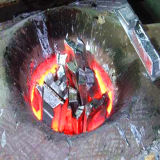 Forno di fusione del grande ferro di alta qualità con a basso rumore