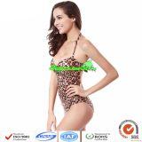 Femmes One-Piece Leopard Maillots de bain