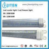 LED-Gefriermaschine-Gefäß, das 1500mm T8 LED Kühlvorrichtung-Licht mit wasserdichter Verbindung beleuchtet