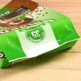 Haustier-Fastfood- Kunststoffgehäuse-Nahrungsmittelbeutel mit Reißverschluss