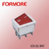 Interruptor de eje de balancín iluminado Kcd4