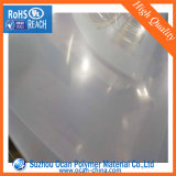 strato di plastica sottile trasparente del PVC del calendario spesso di 0.1mm per la casella piegante