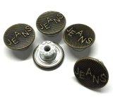 Botón barato de los pantalones vaqueros de la ropa de la alta calidad del fabricante
