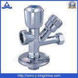 Válvula de ângulo de bronze para a máquina de lavar (YD-5012)