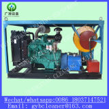 Abwasserkanal-Abfluss-Reinigungs-Maschinen-Rohr-Bagger-Maschine des Dieselmotor-Laufwerk-800mm