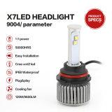 9004 ampoules de phare de 6000k 40W 3600lumens DEL pour des véhicules