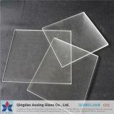 Super cristal claro / vidrio patrón para vidrio solar con certificación