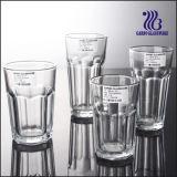 미국 유리제 Cup& 명확한 유리제 공이치기용수철 또는 바위 물 컵 (GB03017811)