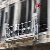 Plataforma suspendida do berço da gôndola da ascensão da fábrica de Zlp 630 alumínio elevado