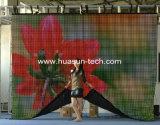 Flexible LED Video Curtain Display für Advertizing und Exhibition