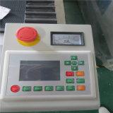 Máquina de estaca da gravura do laser para materiais acrílicos etc.