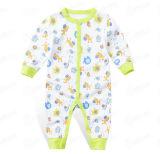 Personnaliser la barboteuse confortable de bébé de beau coton mou unisexe