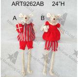 Подарок украшения мыши рождества носит с Baby-2asst-