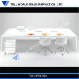 Mesa de escritório preta moderna para a tabela da saliência