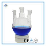 Flasque d'ébullition à fond rond en verre borosilicate à trois cou