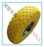 Roda do carro da ferramenta do pneumático da espuma do plutônio do preço de fábrica 3.00-4