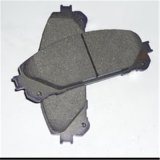 almofada de freio 04465-0k090 dianteiro para Toyota Hilux