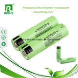 Первоначально клетки батареи NCR18650PF Li-иона