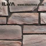 Pedra Manufactured da telha de pedra artificial da parede de pedra da cultura (YLD-72032)