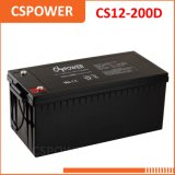 Batteria 12V200ah del AGM della batteria del comitato solare per l'emergenza CS12-200 dell'UPS