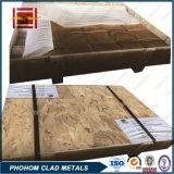 Aluminiumtitanübergangs-Verbindungen des Edelstahl-3layers für elektrische Anode