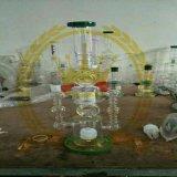 Rauchendes Wasser-Glasrohr mit Bienenwabe-Recycler-Dusche