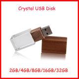 USB 펜 드라이브 기억 장치 지팡이 나무로 되는 결정 USB 섬광 드라이브