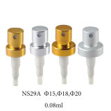 香水(NS13A)のためのアルミニウムひだポンプスプレーヤー