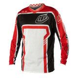 Motocicleta feito-à-medida vermelha de Sportwear do projeto que compete Jersey (MAT61)