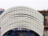 具体的な区分のプラントは小さい50トンによってボルトで固定されたセメント・サイロを使用した