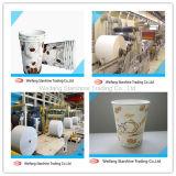 Papel revestido de la venta caliente para la taza de consumición