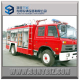 5cbm 6cbm 170HP Dongfeng 4X2 Fire Fighting Truck