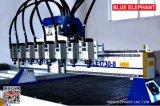 Router de múltiplos propósitos do CNC do Woodworking de 8 cabeças Ele-1730