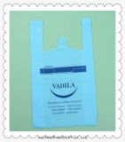HDPEのプラスチックTシャツは食料雑貨のための印刷を用いる/Singlet袋を袋に入れる