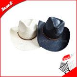 Sombrero promocional de papel del sombrero de vaquero de la paja
