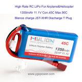 Alta calidad RC Lithium Battery para Helicopter (5500mAh 22.2V 30C)
