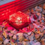 Светильник сада солнечного света курса кубика льда кирпича СИД кристаллический