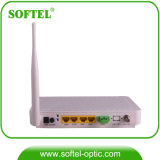 Epon ONU senza fili (4DATA+2VoIP+RF+WiFi) per FTTH