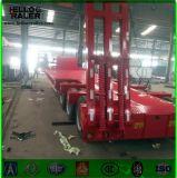 Árbol resistente 3 acoplado de Lowbed de 60 toneladas