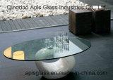 6mm 8mm 10mm 12mmの直径560mm円形916mm/円のホテルの家具の和らげられたか、または強くされたテーブルトップガラス
