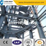Escalier extérieur 2016 de structure métallique avec le modèle