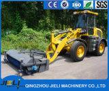 Затяжелитель пакгауза Jieli 1.6ton с метельщиком дороги для дороги чистки