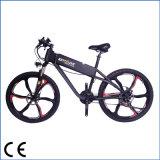 Aluminio plegable la bici eléctrica con la suspensión de F/R (OKM-1236)