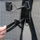 tremplin de rebondissement de 15FT avec le filet de sécurité, tremplin adulte de forme physique